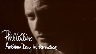 Phil Collins  Another Day In Paradise Official Music Video