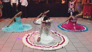 Bollywood dance performance at Saagar & Manisha's Indian wedding reception | 2016