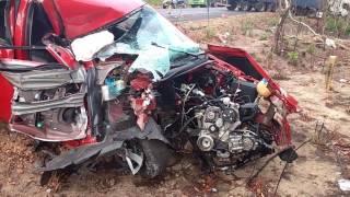 Madrugada registra dois acidentes na BR-316