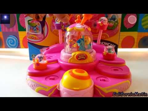 Glitzi Globes Playset Showcase Toy Glitter Domes With Pony and Animals