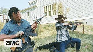 (SPOILERS) The Walking Dead: 'Rise Up'  Season 7 Finale Talked  About Scene