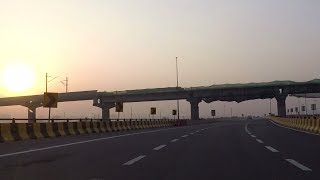 Driving On Yamuna Expressway (Part 1) - Uttar Pradesh, India