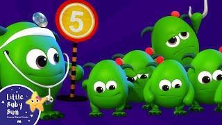 Five Little Monsters | BRAND NEW! | Halloween Songs | Nursery Rhymes & Kids Songs | Little Baby Bum