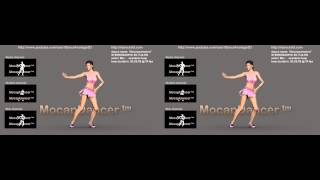 DECOMPRESSION Dance | 3D Stereoscopic Full-HD 1080p | motion capture Footage preview | video loop