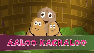 Aloo Kachaloo kahan gaye they | Hindi Rhymes for Children |  Hindi Rhymes Video
