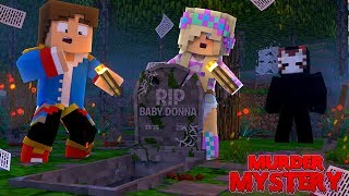 Minecraft MYSTERY - THE GRAVE IS EMPTY - THE BODY IS GONE!!! Little Leah Roleplay