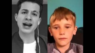 Me and charlie puth singing