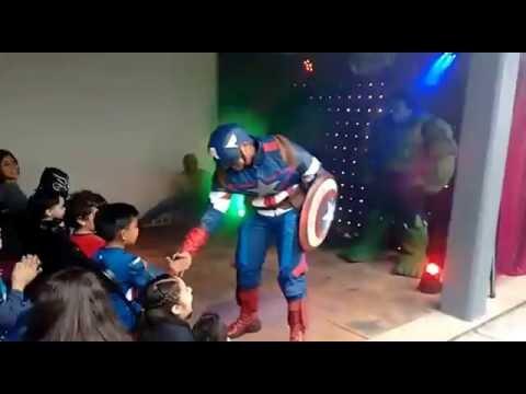 Avengers presentación show infantil
