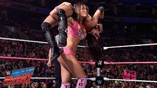 Brie Bella vs. Cameron, Summer Rae, Layla & Nikki Bella: WWE Main Event, Oct. 7, 2014