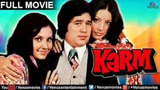 Karm Full Movie   Bollywood Movies Full Movie   Rajesh Khanna Movies   Bollywood Full Movies