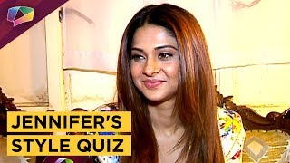 Jennifer Winget Takes Up The Style Quiz | Exclusive | India Forums