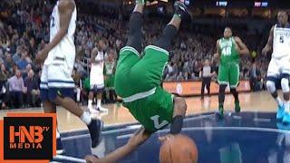Jaylen Brown - terrible fall / Celtics vs Timberwolves