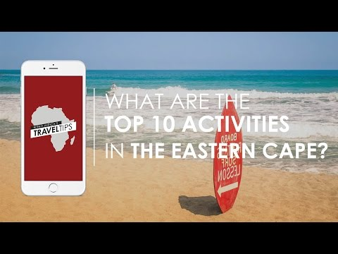 What are the top 10 activities in the Eastern Cape? Rhino Africa's Travel Tips