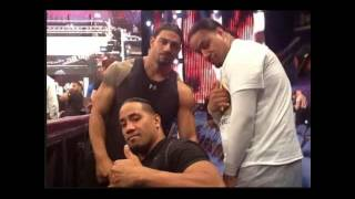 WWE ROMAN REIGNS ///FAMILY AND FRIENDS.