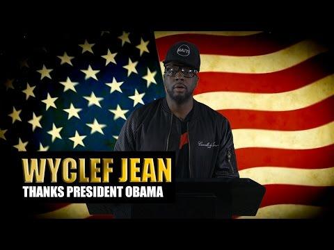 Wyclef Jean Thanks President Barack Obama on Behalf of Hip-Hop