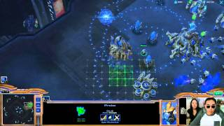 StarCraft II #9 - Bear Coaching Lessons - megumixbear & Potatohead