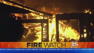 Team Coverage: December Wildfires Rage For 5th Day In Southern California