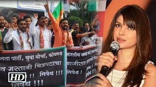 Protest Against Bajirao Mastani   Priyanka Chopra loses Cool