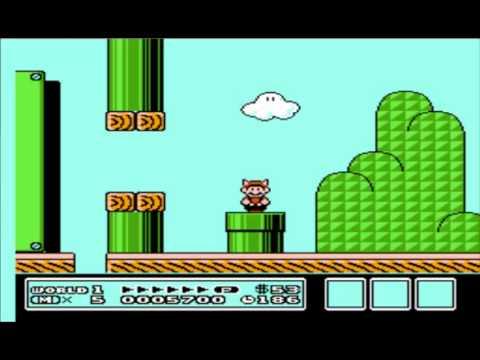 [9] Super Mário Bros 3 - Demonstração Inicial do Jgo