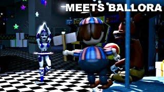 SFM| Foxy and Balloon boy meets Ballora