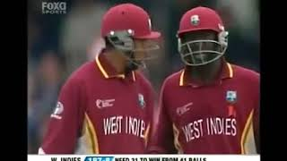 COURTNEY BROWN AND IAN BRADSHAW! WEST INDIES AMAZING WIN!! 2004 Champions Trophy