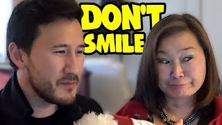 Try Not To Smile Challenge #5 w/ MOM