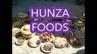 Hunza food traditional diet... It will make you run to the mountains