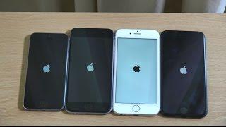 Apple iPhone 7 vs iPhone 6S vs iPhone 6 vs iPhone 5S iOS 10 - Speed Test!