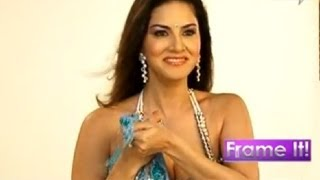 RAGINI MMS 2 actress Sunny Leone's sexy & revealing & HOT photoshoot in transparent saree