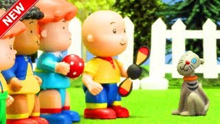 ★NEW★ FETCH IT! | Funny Animated cartoons Kids | Caillou Stop Motion | Cartoon movie