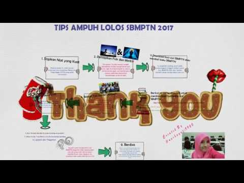 TIPS AMPUH LOLOS SBMPTN 2017