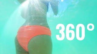 Underwater in 360° VR with Samsung Gear 360 DIY Case Test
