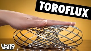 Meet Toroflux, the magical metal torus