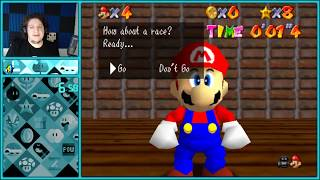 A New Faster Way To Beat The Penguin in Super Mario 64