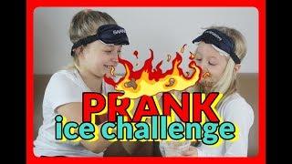 PRANK ice challenge