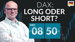 Dax springt nach oben - DAX: Long oder Short? mit Marcus Klebe - 13.07.2020