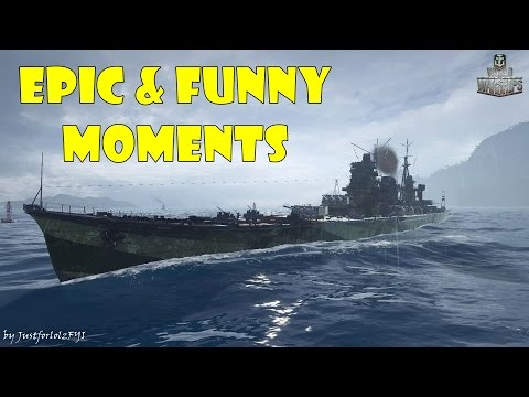 World of Warships Epic & Funny Moments Torpedo Magnets