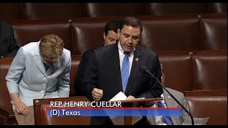 Rep. Cuellar Speaks on House Floor in Support of the Emergency Supplemental Bill