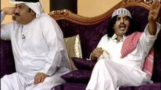 بخيت وبخيته: مسرحية طارق العلي:مقطع التخلف: سبعة فوق