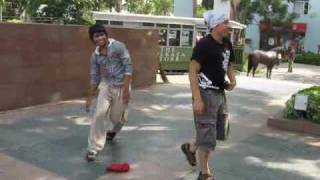 BBoy Hotshot (India) vs BBoy Inex (Canada) (MY FIRST BATTLE)