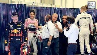 Furious Max Verstappen SHOVES Esteban Ocon Following Controversial Collision