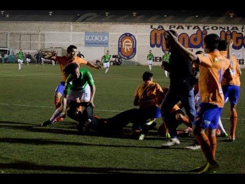 Deportivo Roca 0 Cipolletti 1 batalla campal en el Maiolino