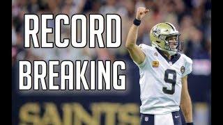 "NFL Best ""Record Breaking"" Plays || HD"