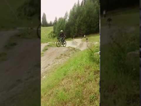 Down Hill fietsen serfaus gids ladis