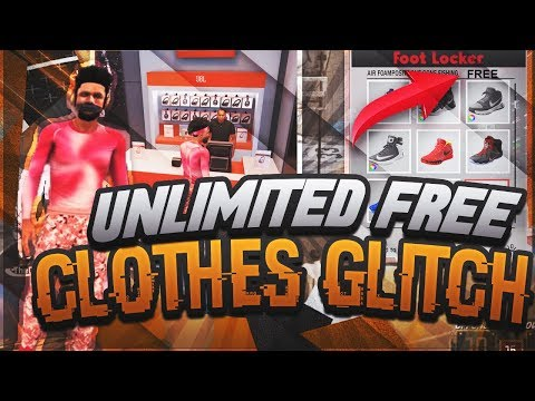 HOW TO GET EVERYTHING FREE ON NBA 2K18 • FREE UNLIMITED CLOTHES & SHOES GLITCH ON NBA 2K18 MyPARK😱😱