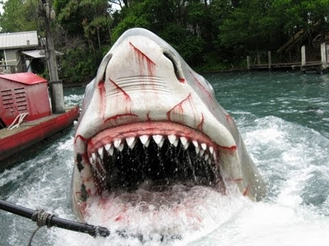 Universal Studios Orlando Jaws Ride HD POV FULL RIDE Last day