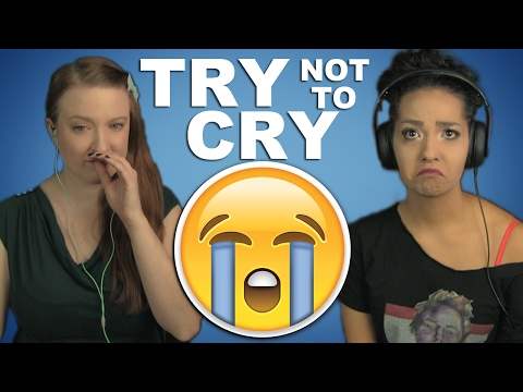 Try Not To Cry Challenge | Girls React |