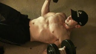 Dumbbell Chest Workout At Home!