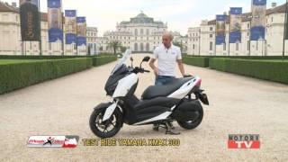 Magic Bike prova il nuovo Yamaha XMax 300