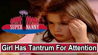 Young Girl Throws Tantrums For Attention - Tsironis Fam Full Ep Prt 4 | Supernanny USA